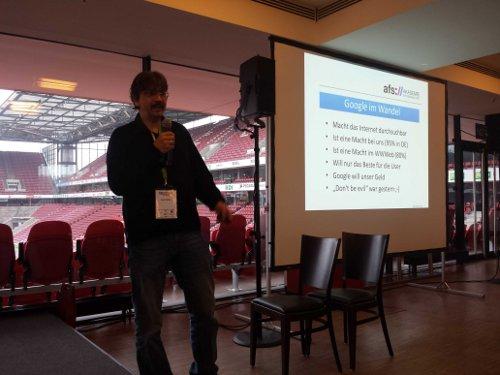 Gerald Steffens spricht über Google