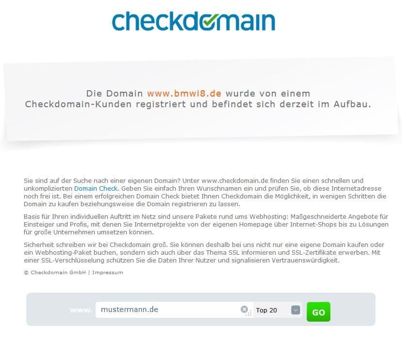 checkdomain