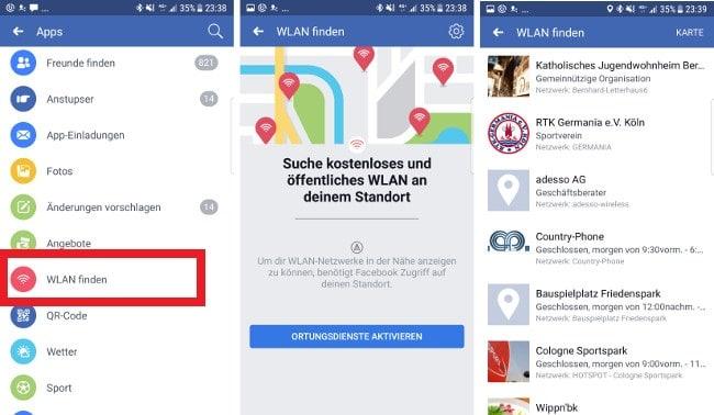 wie man Leute in der Nähe auf Facebook findet