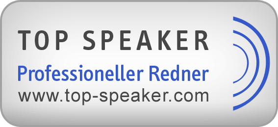 Felix Beilharz ist als TOP Speaker anerkannt