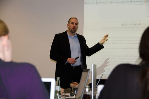 Social Media Seminar mit Felix Beilharz