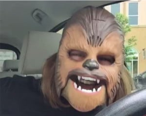 Virales Marketing-Kampagne Chewbacca