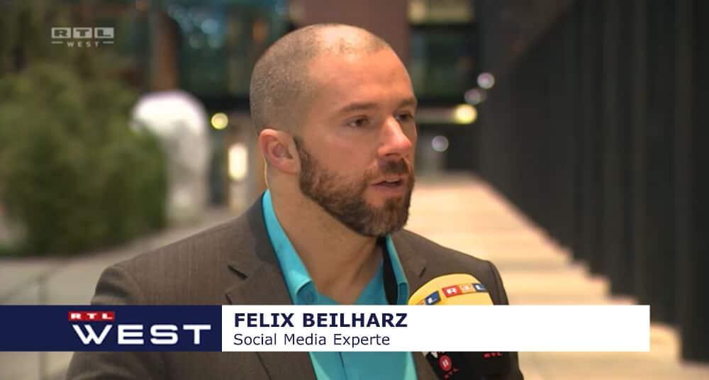 SEO Experte Felix Beilharz ist häufig in den Medien