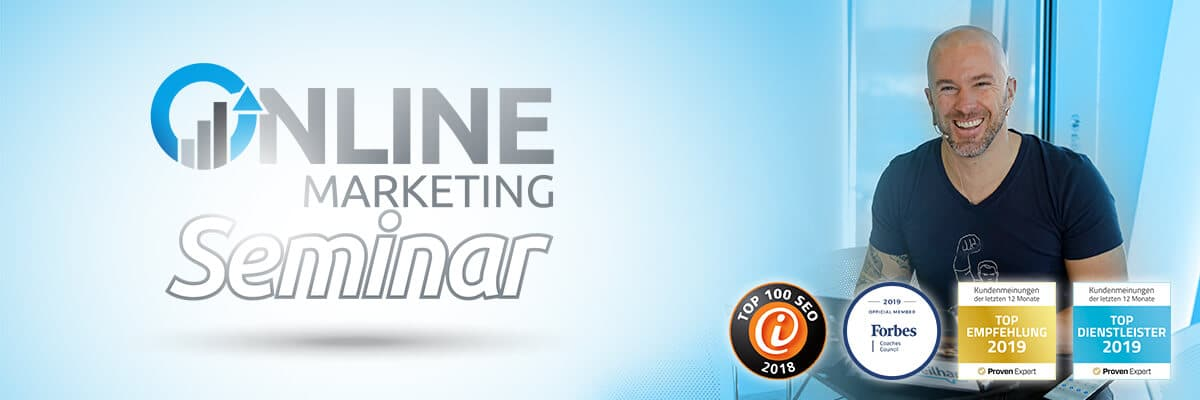 Online Marketing Seminar mit Felix Beilharz